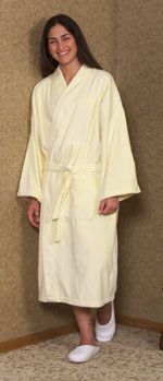 Yellow Terry Cloth Robe